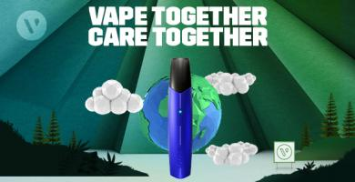 WE PLEDGED IT, NOW WE ARE THE FIRST GLOBAL CARBON NEUTRAL VAPE BRAND*